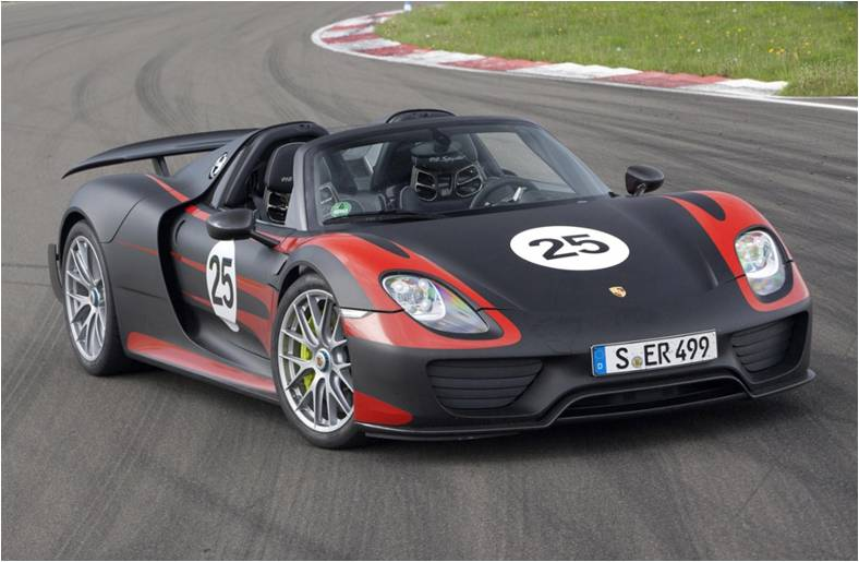 2015 Porsche 918 Spyder Redefining the Future of Super Cars 3