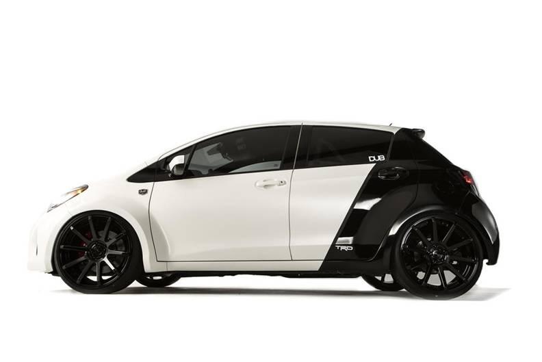 Aggressive Wide-bodied Dub Edition 2015 Toyota Yaris Street Machine 1