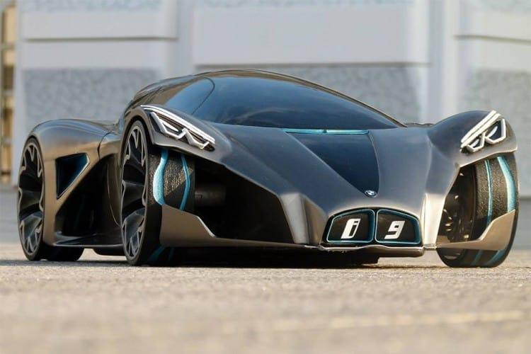 BMW i9 Front Side 2016