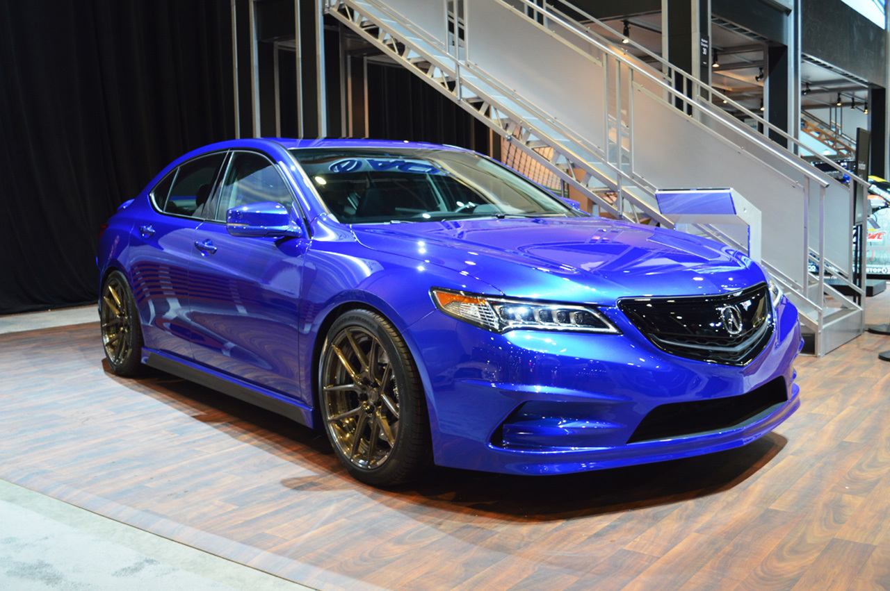 Gas Modified 2015 Acura Concept Tlx Debuts At The 2014 Sema Show Car Colors