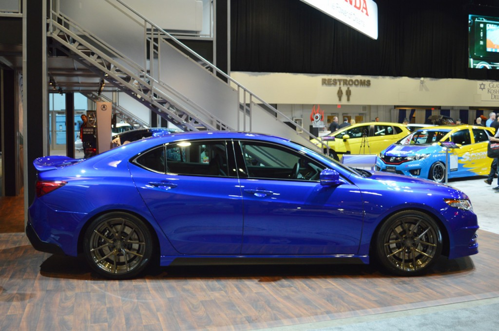 GAS Modified 2015 Acura Concept TLX Debuts at the 2014 SEMA Show