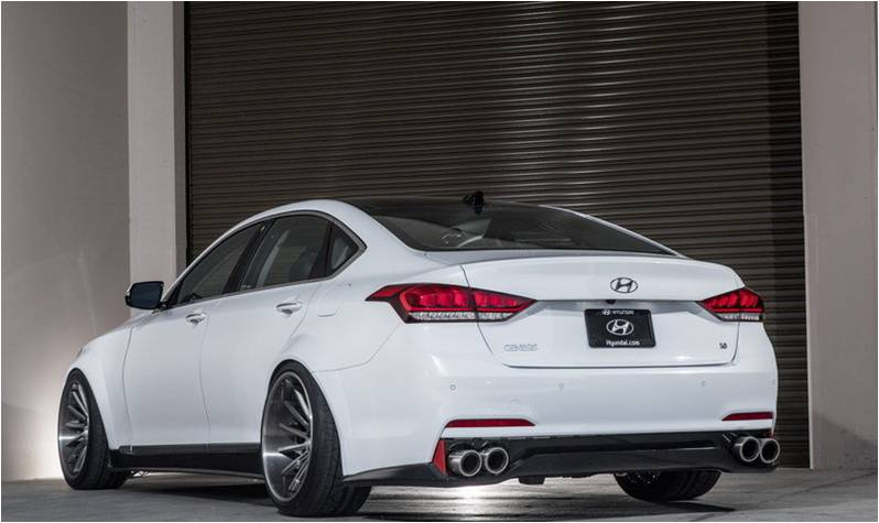 Super SEMA Ark Performance Upgraded 2015 Hyundai Genesis Sedan 3