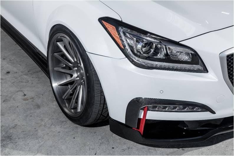 Super SEMA Ark Performance Upgraded 2015 Hyundai Genesis Sedan 4