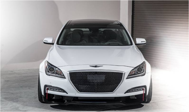 Super SEMA Ark Performance Upgraded 2015 Hyundai Genesis Sedan 5