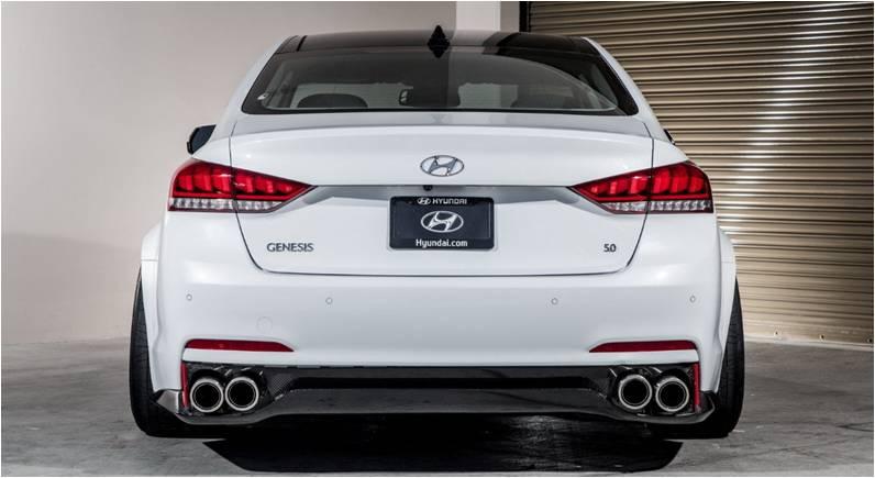 Super SEMA Ark Performance Upgraded 2015 Hyundai Genesis Sedan 6