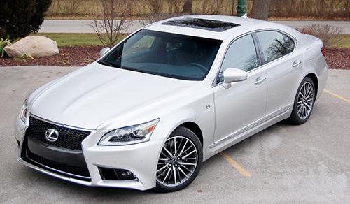 Lexus LS 460 Review 5
