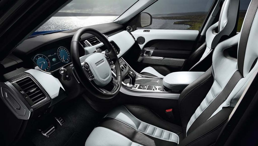 New Range Rover Sport SVR Interior