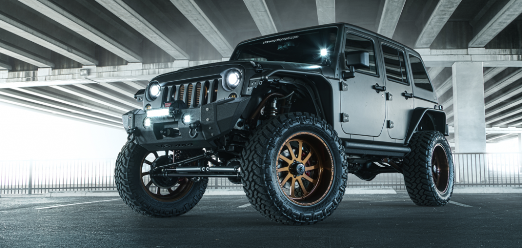 Jeep Wrangler Unlimited Nighthawk Front