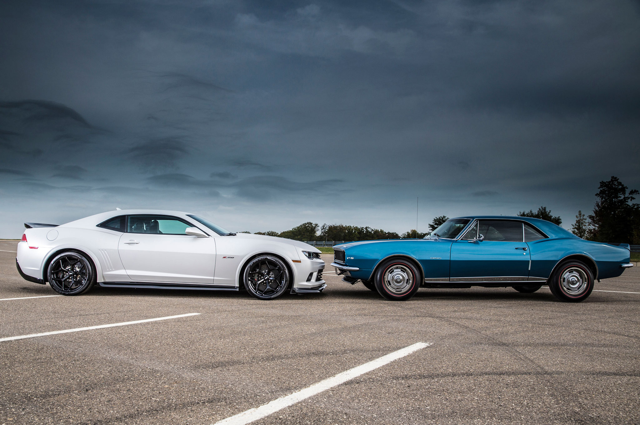 Head to Head - 2014 and 1967 Chevrolet Camaro Z/28