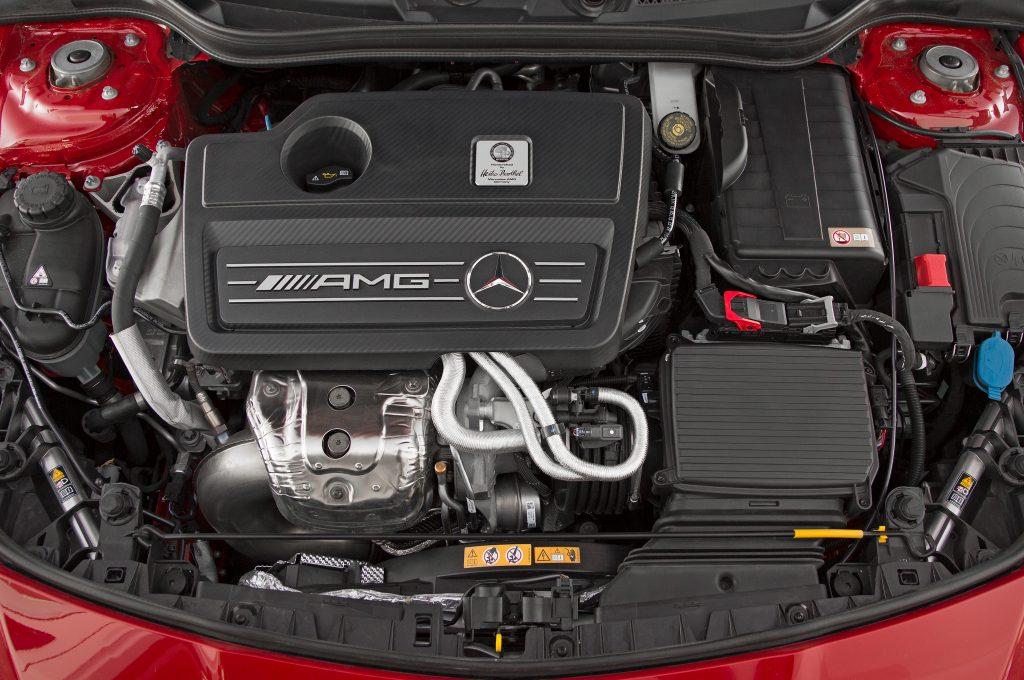 2015 Mercedes-Benz CLA45 AMG Engine