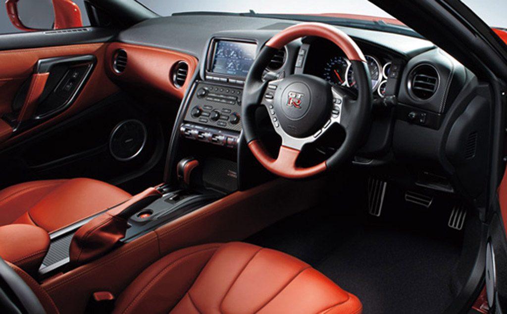 2015 Nissan GT-R 45th Anniversary Edition (Japanese spec) Interior