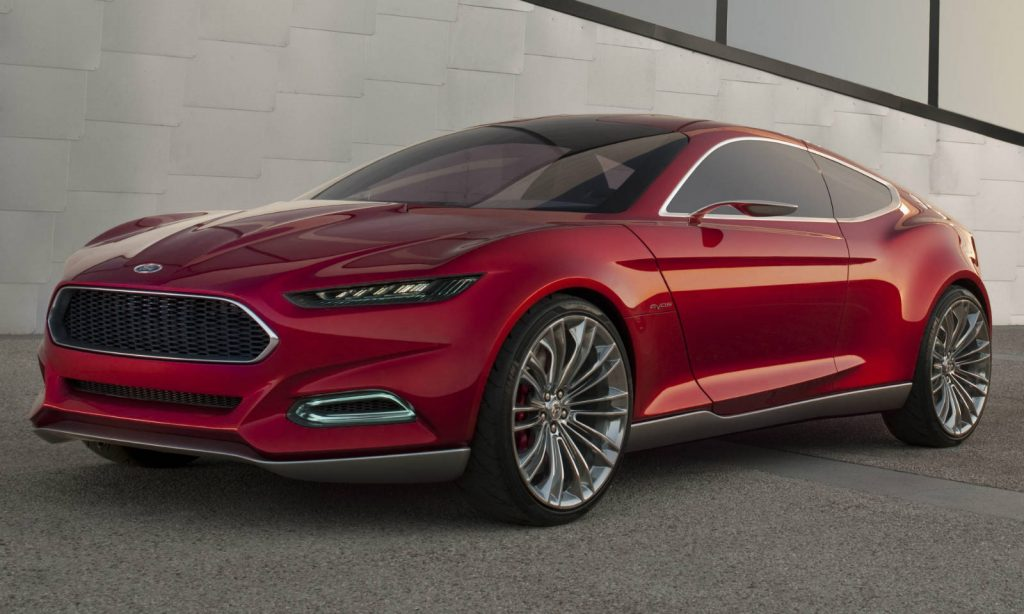 2015 ford fusion Side