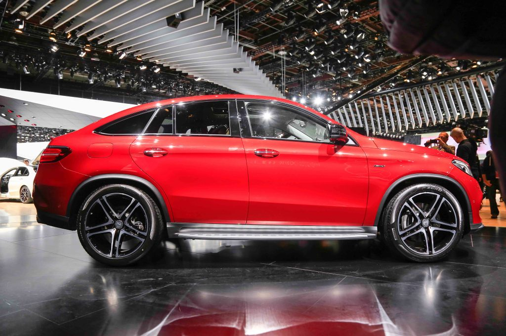 2016 Mercedes-Benz GLE450 AMG 4Matic Coupe Side II