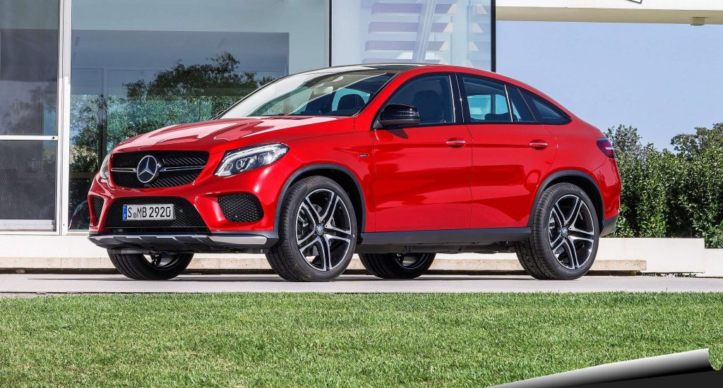 2016 Mercedes-Benz GLE450 AMG 4Matic Coupe Side
