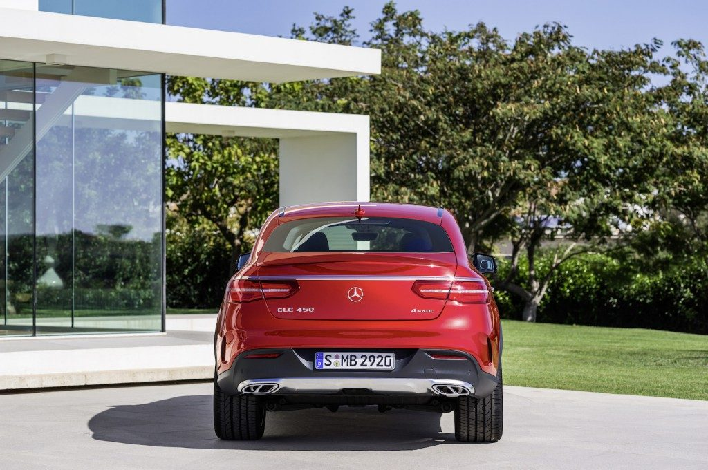 2016 Mercedes-Benz GLE450 AMG 4Matic Coupe back