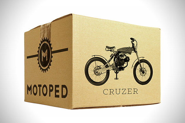Motoped Cruzer delivery