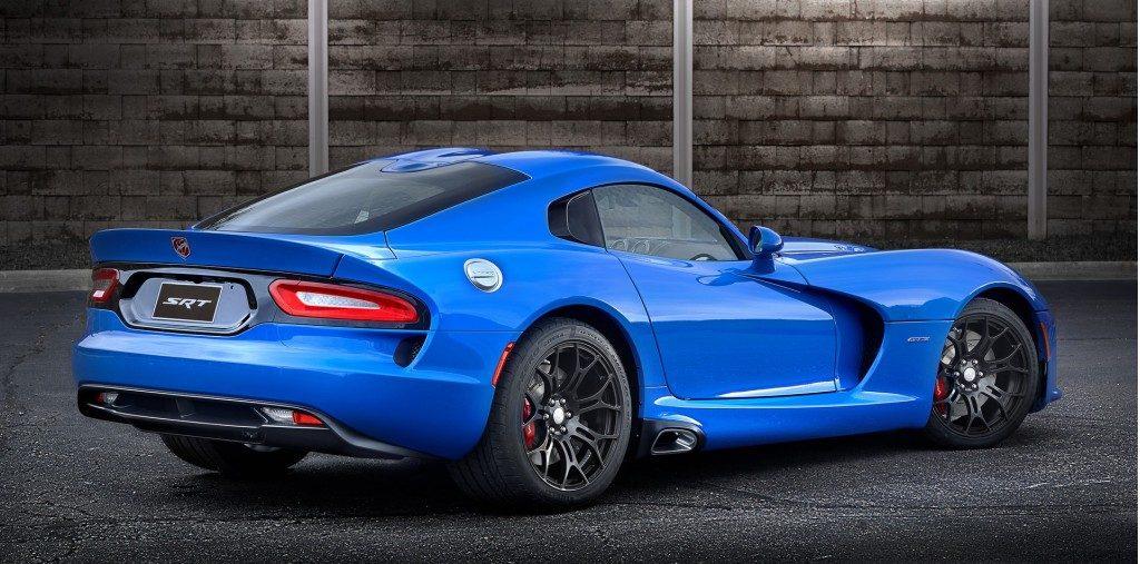 Dodge Viper Ta 2.0 Back