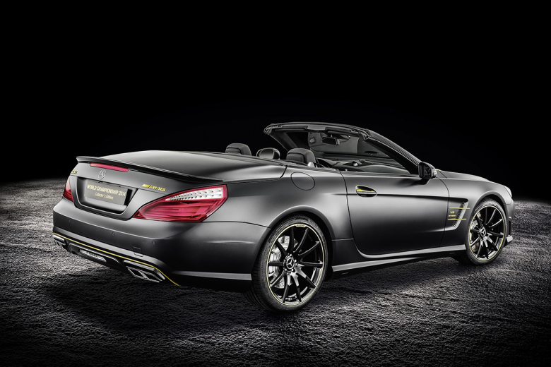 Special Edition Mercedes SL63 AMG(these are the ones they released after F1) Back