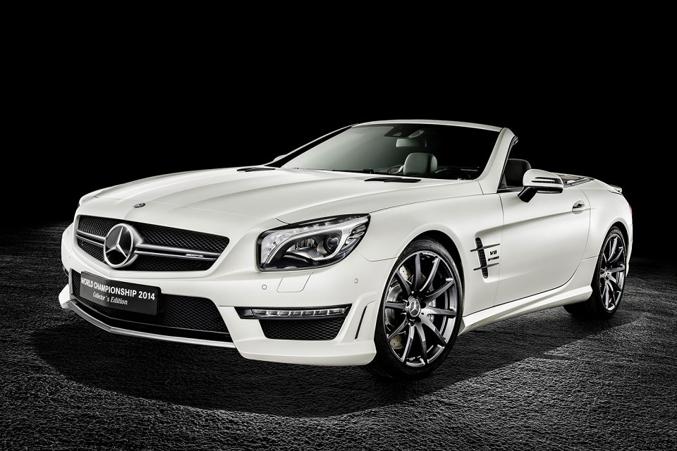 Special Edition Mercedes SL63 AMG(these are the ones they released after F1) Front II