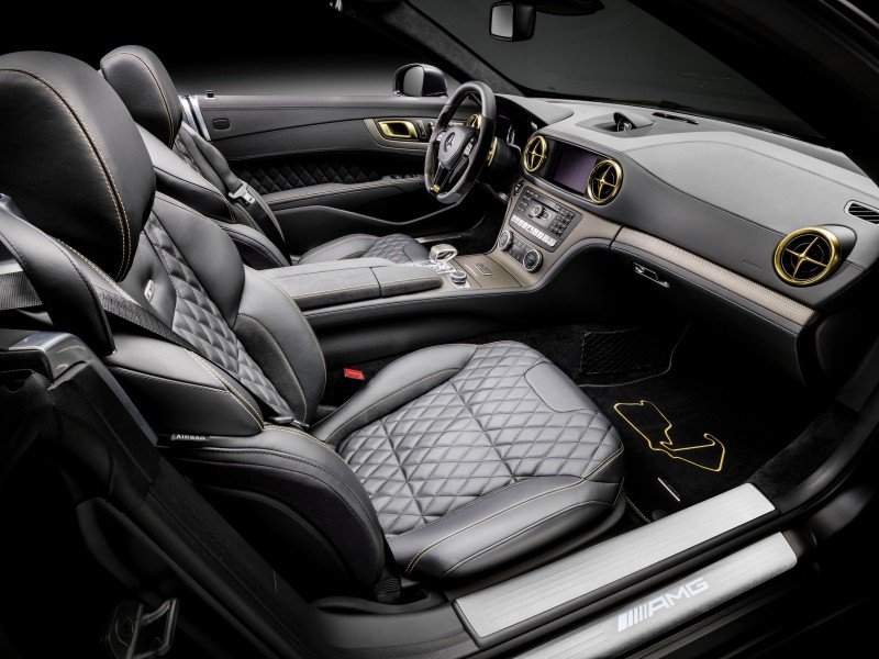 Special Edition Mercedes SL63 AMG(these are the ones they released after F1) Interior