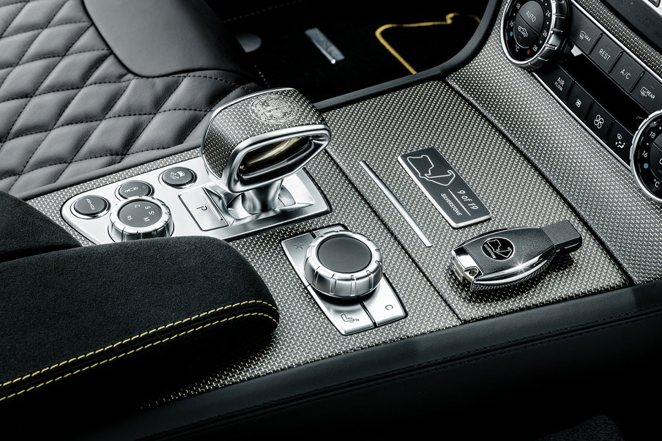 Special Edition Mercedes SL63 AMG(these are the ones they released after F1)