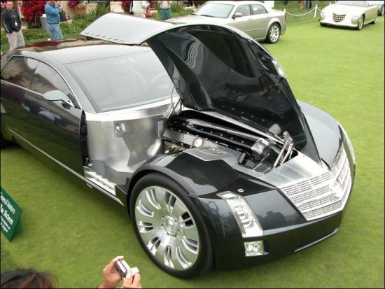 Cadillac Six Hood