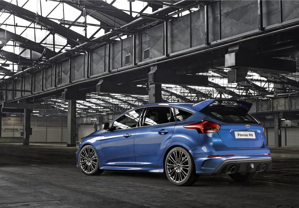 Ford Focus RS Rear view