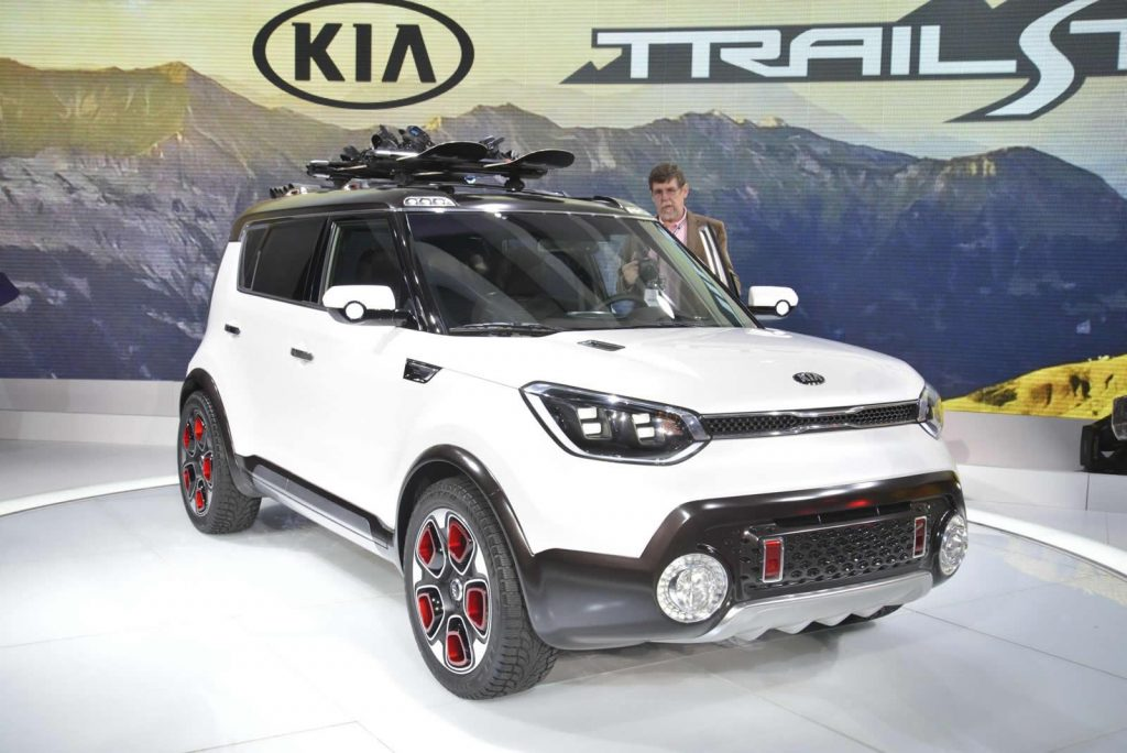 Kia Trailster unveiled
