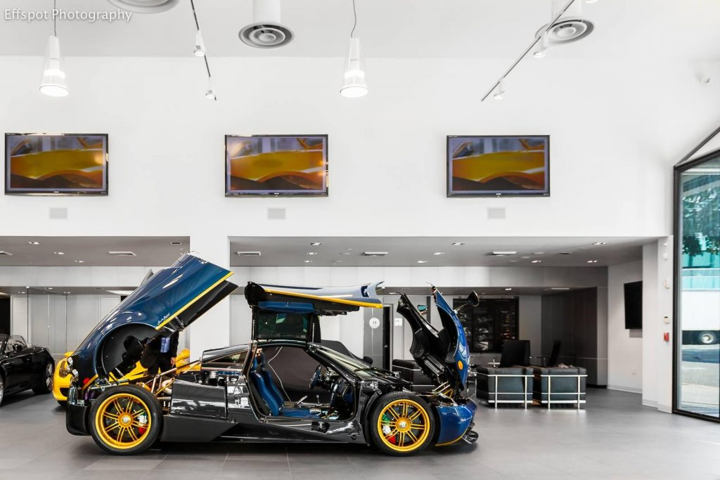 Pagani Huayra 730S Side View