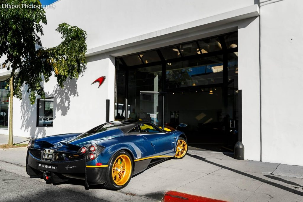 This 730S is a special one-off Pagani Huayra custom made for Alejandro Salomon