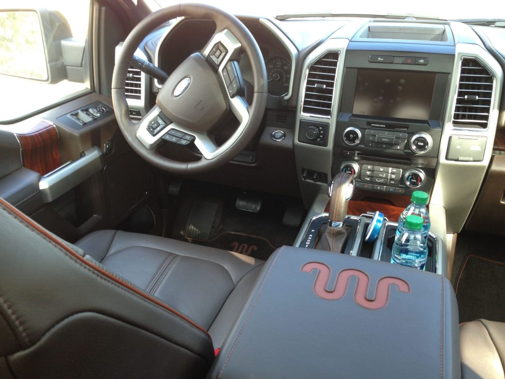 T2015 Ford F-150 Weight 2