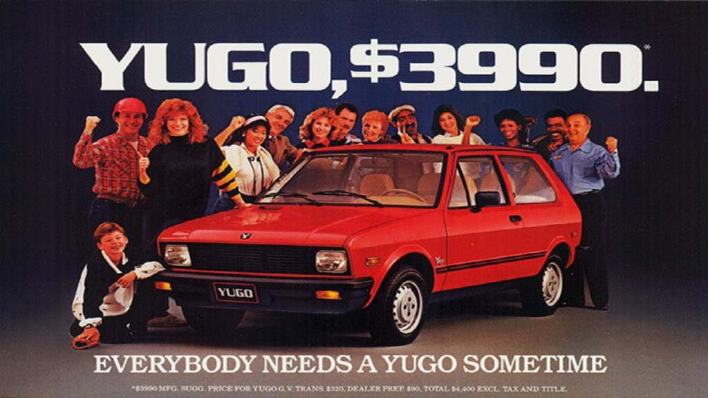 Worst Cars Ever Sold In America - 1985-1992 Yugo