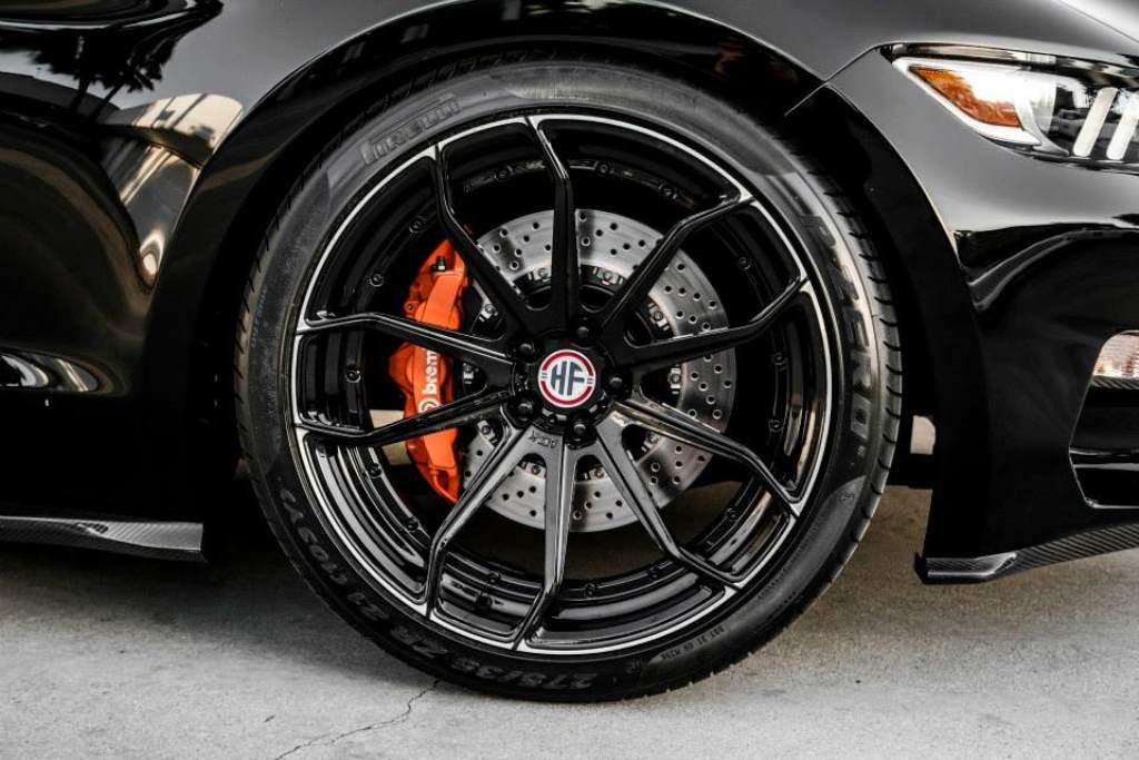 Rocket Mustang wheels