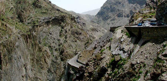 Dangerous Roads – Kabul to Jalalabad Road, Afghanistan