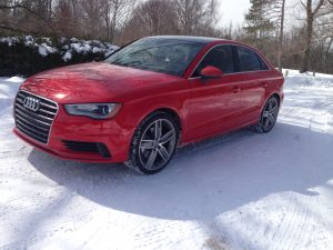 The 2015 Audi A3 is offered with quattro (AWD) and has both a gasoline and diesel engine.