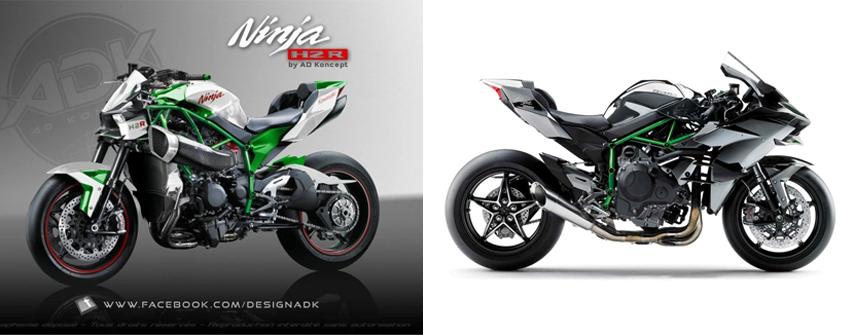 Kawasaki H2R Custom 3