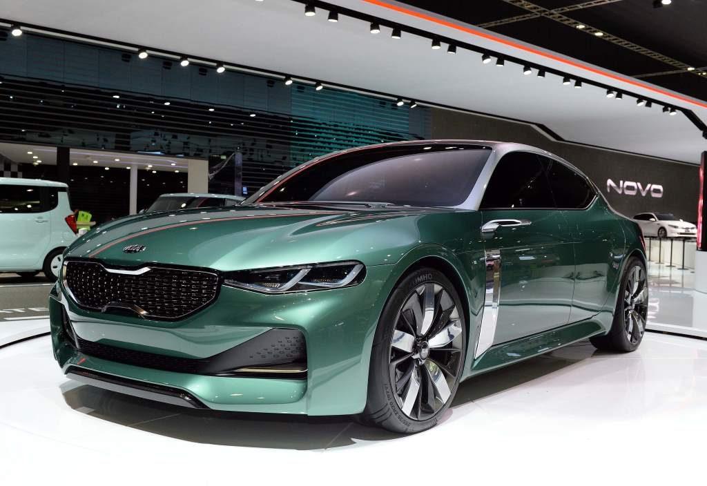 Kia Novo Concept Front 3/4