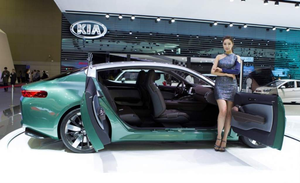 Kia Novo Concept Side View