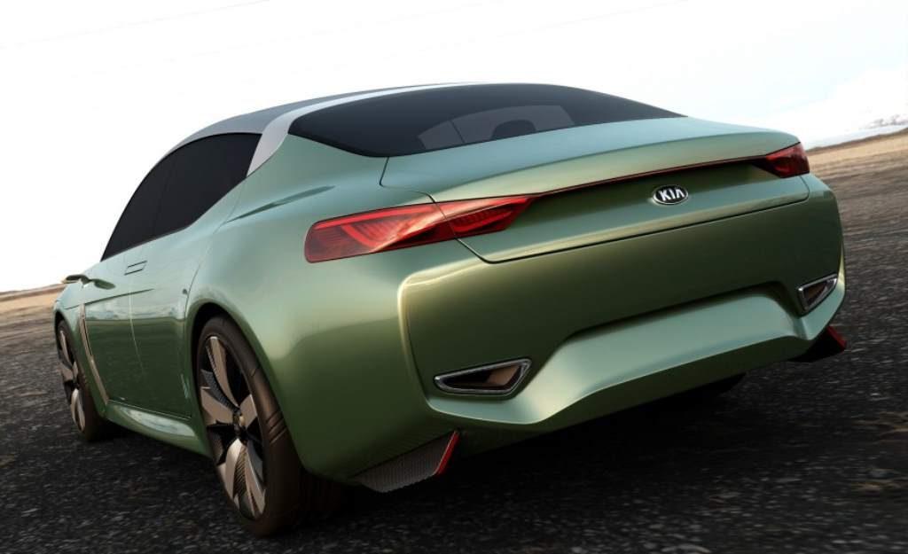 Kia Novo Concept Rear 3/4