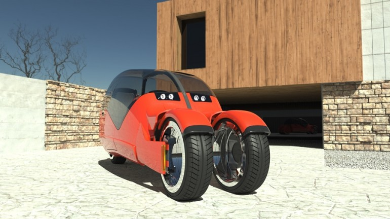 lane splitter concept 2