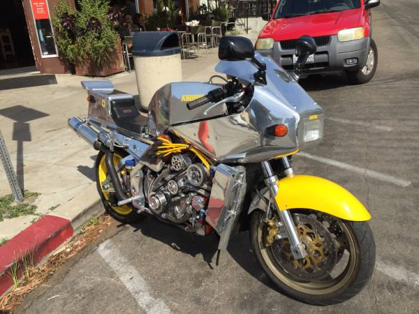 Ferrari Motorcycle For Sale 2