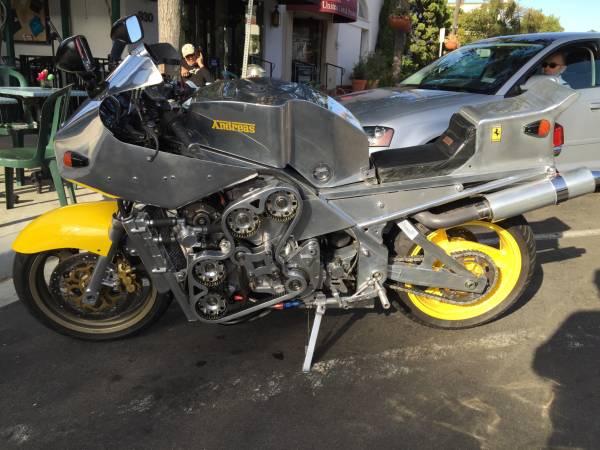 Ferrari Motorcycle For Sale 1