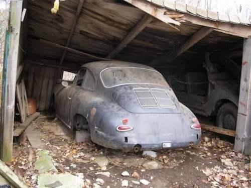 1963_Porsche_356B_Coupe_Rudge_New_York_Auto_Show_Car_For_Sale_Barn_Find