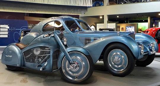 Harley Bugatti Motorcycle 1