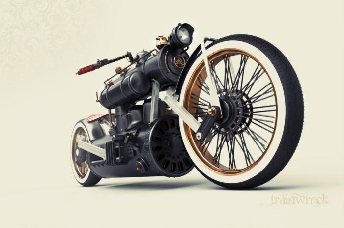 Steam Engine Motorcycle 7