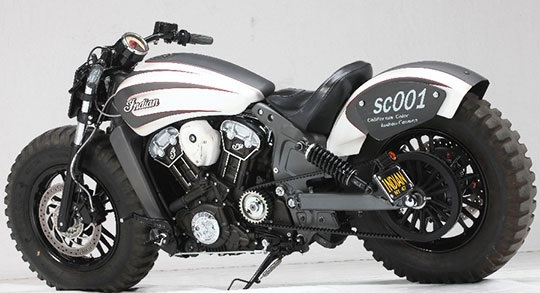 Indian Scout Off Road 2