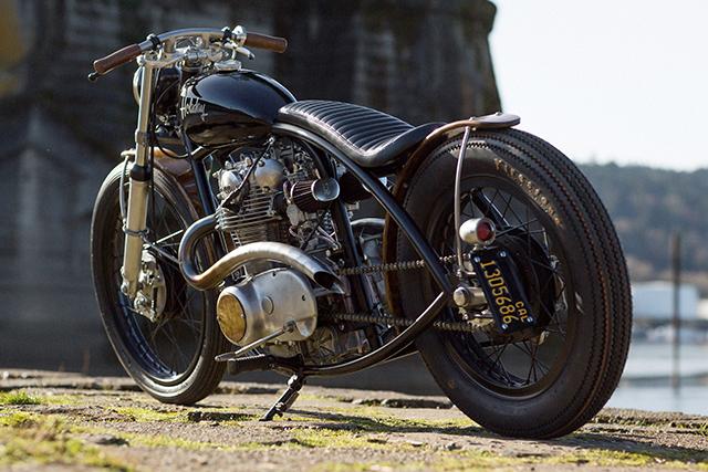 Yamaha XS650 Bobber 9