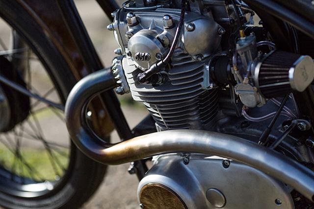 Yamaha XS650 Bobber 2