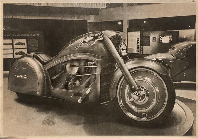 Harley Bugatti Motorcycle 2