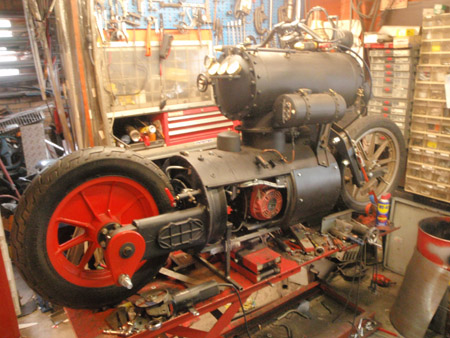 Steam Engine Motorcycle 5